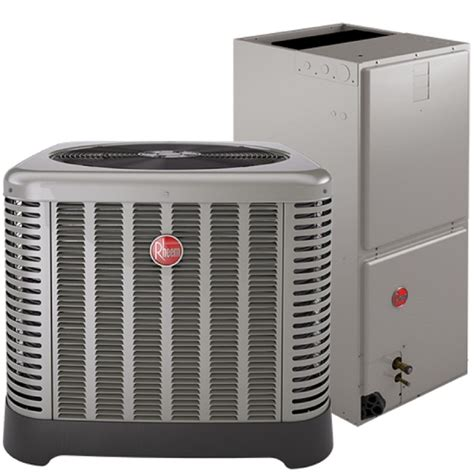 rheem 3 ton air conditioning condensing unit and air handler ebay