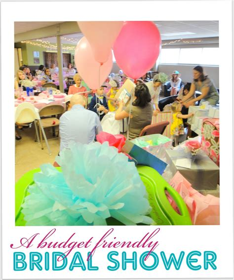 bridal shower for workplace a beautiful budget friendly bridal shower