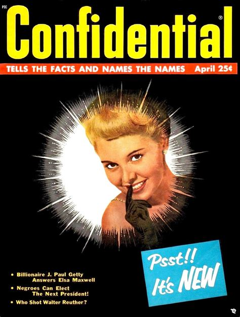 Confidential Search Confidential Magazine