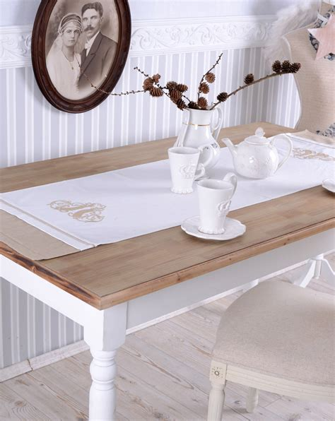 white shabby chic dining table dining room table shabby chic dining table white kitchen