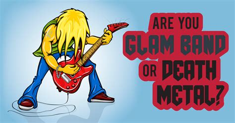 Glam Quiz by Are You Glam Band Or Metal Quiz Quizony
