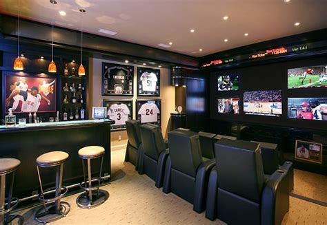 superb Teen Room Wall Decor #5: Bring-home-the-sports-bar-in-style.jpg