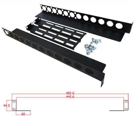 Rack Rails Server by 1u Server Rack Rails Adjustable From 450mm To 600mm