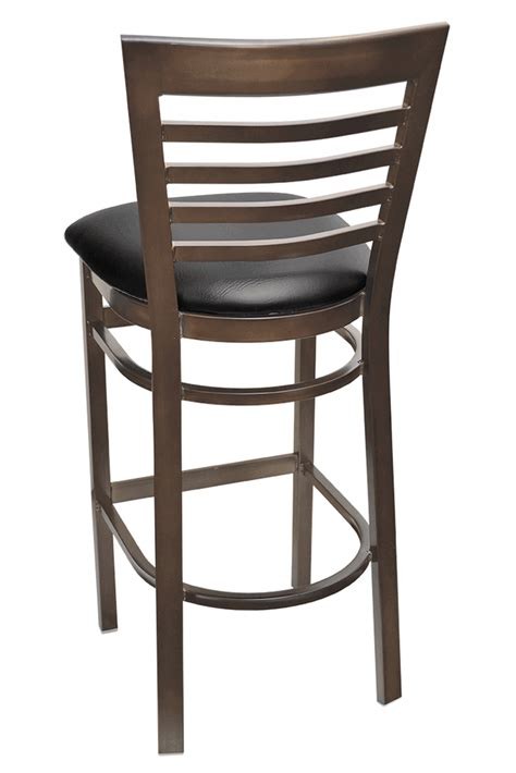 bar stools cherry wood gladiator rust full ladder back bar stool w cherry wood