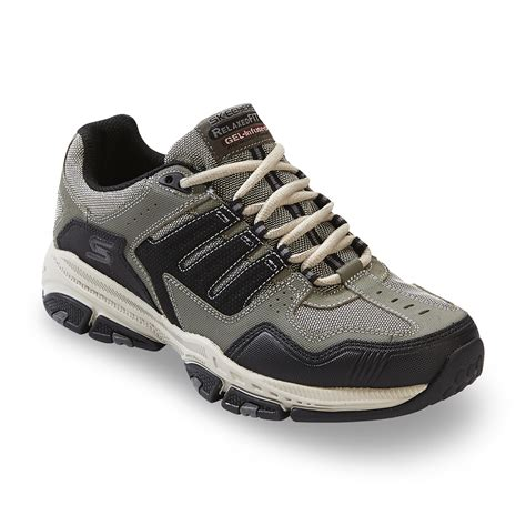 sears mens athletic shoes skechers s cross court olive black athletic shoe