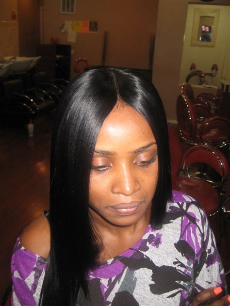 black sew in weave styles invisible part sew in weave hairstyles beautiful hairstyles