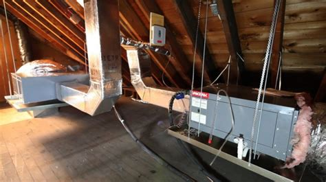 Attic Mounted Air Conditioning System - attic mounted air conditioners attic air conditioning