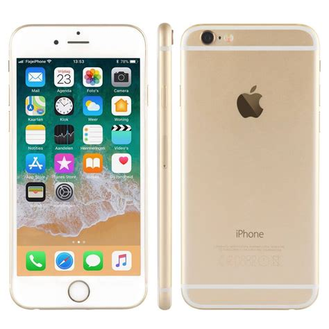 refurbished iphone 6 goud 16 gb kopen fixjeiphone nl