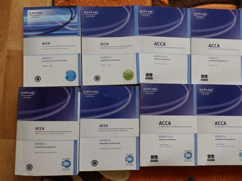 Acca Books F1 F2 F3 F5 F7 F8 F9 For Sale In Blanchardstown