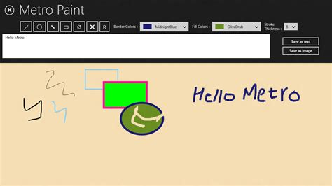 metro paint a xaml c app for drawing writing recognition farhan s windows 8