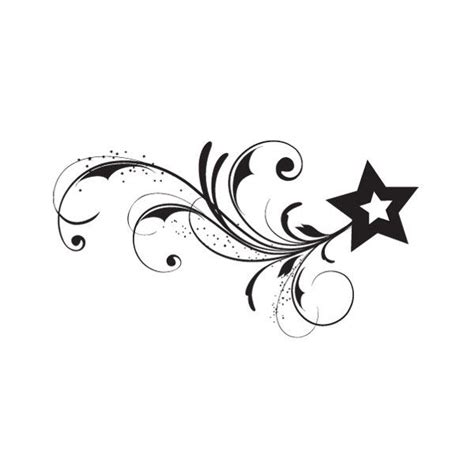 stars with swirls tattoo designs tattoos what do they tattoos designs