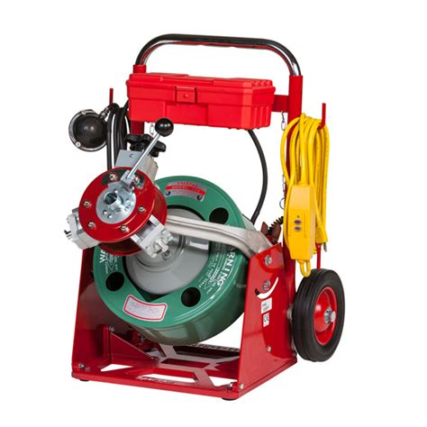 Used Plumbing Snake by Model 100 Drain Cleaning Machine With 5 16 Quot Drum Spartan Tool