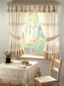 Curtain In Kitchen Retro Embroidered Kitchen Curtain Curtains Uk