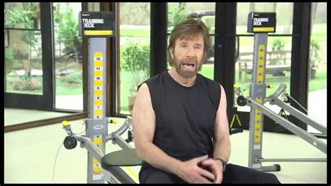 chuck norris uses the total to improve his martial