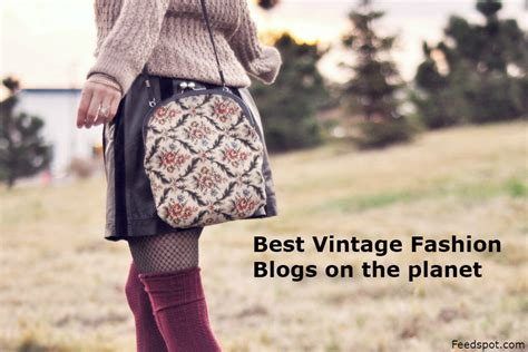 top 50 vintage fashion style and clothing websites and blogs