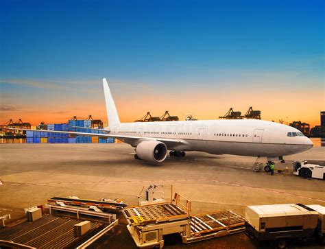 air freight and cargo plane loading trading goods in airport con stock photo image of airport