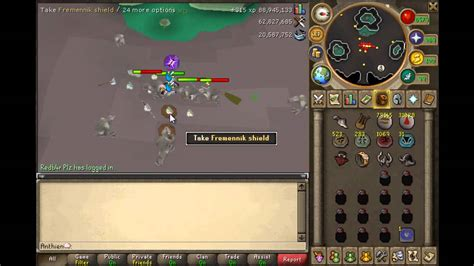 runescape anthien charming imp at dagannoths guide with