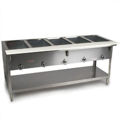 duke 305 aerohot 5 well steam table propane