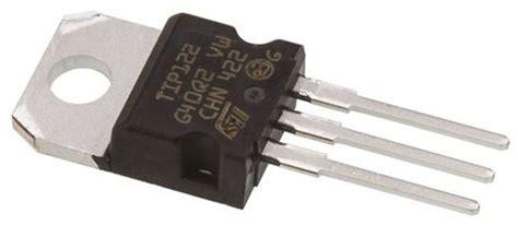 transistor darlington encapsulado tip122 transistor darlington tip122 npn 8 a 100 v hfe 1 to 220 3 pines stmicroelectronics