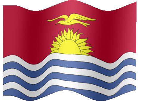 animated kiribati flag country flag of abflags com gif