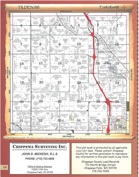 plat maps themapstore chippewa county wisconsin plat