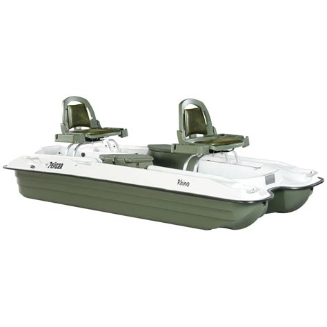 pelican boat club pelican 174 rhino pontoon boat 88276 boats at sportsman s