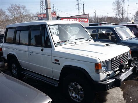 1991 mitsubishi pajero pictures 2 5l diesel manual for sale