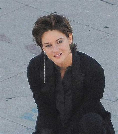 shailene woodley short hair pics short hairstyles