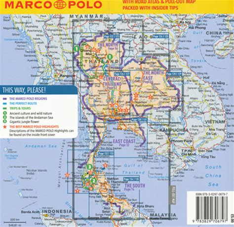 thailand the s travel guide books thailand guide marco polo maps books travel guides