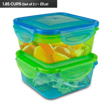 blue seal food cool gear snap and seal food storage 1933 green blue