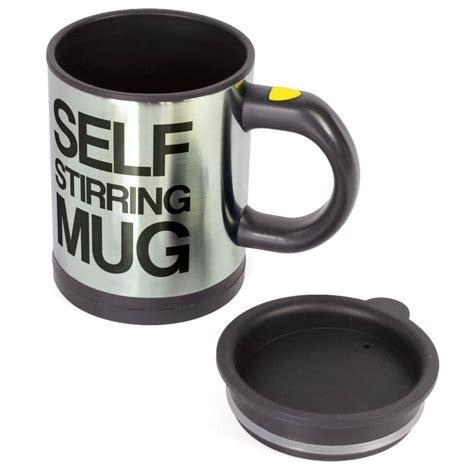 self stirring mug plain lazy mug auto stir cup top kitchen gadgets homeware 187 cooking gizmos