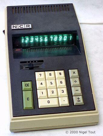 calculator ncr ncr 18 16 busicom junior