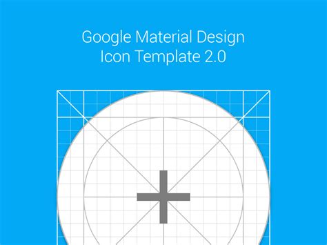 grid layout material design material design icon template ai by meritt thomas