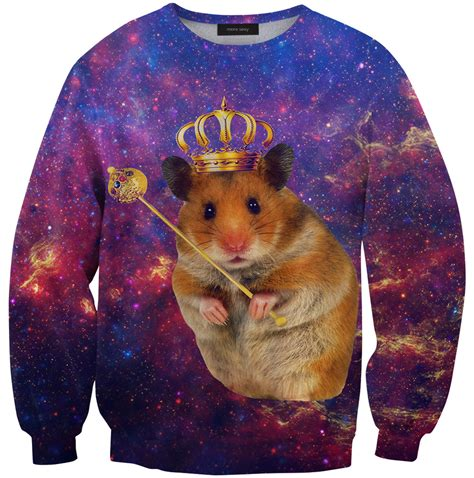 Hamster Sweater by Holy F Cking Sh T Balls Hammy Space Sweater