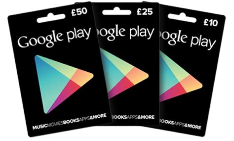 Google Play Gift Cards Uk - google play gift cards are now available in tesco uk