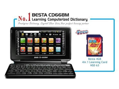 my electronic dictionary the besta cd 668m mumsgather
