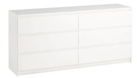 Ikea Malm Kommode 3 Skuffer Hvid