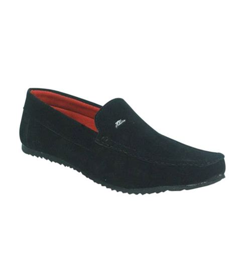 high quality loafers kzaara velvet high quality black loafers price in india