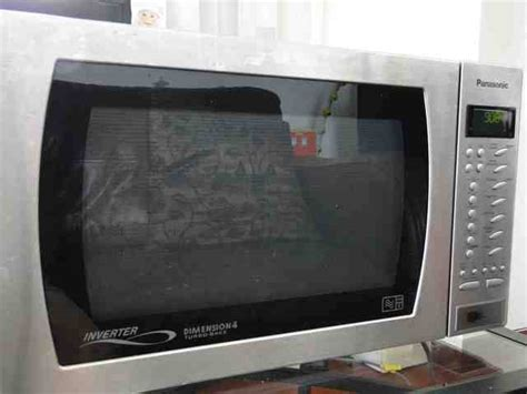 Microwave Panasonic Second panasonic microwave inverter oven reduced for sale in hong