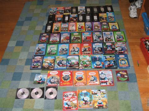 My Thomas VHS DVD Collection By MH1994 On DeviantArt