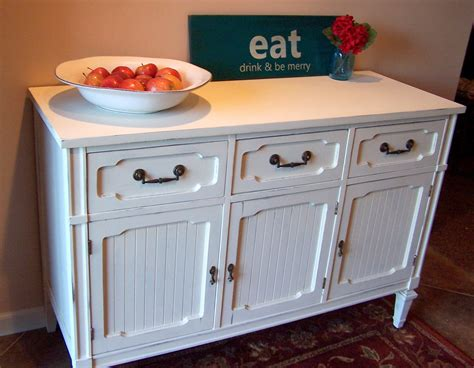 white buffet white sideboard buffet farmhouse finishes