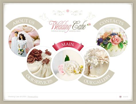 wedding layout images wedding cake flash template 25117