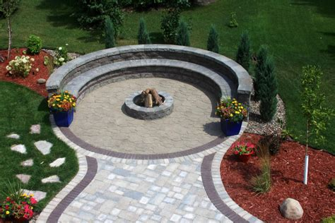 paver patio pit circular paver patio with pit pit design ideas
