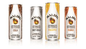 malibu premixed cans product news 20th march 2015 carry management
