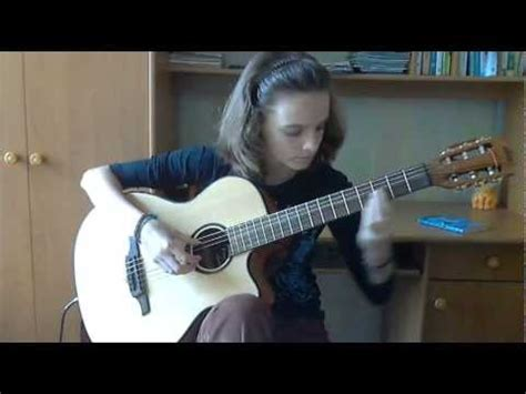 secret guitar cover secret garden nocturne alina vlasova guitar cover