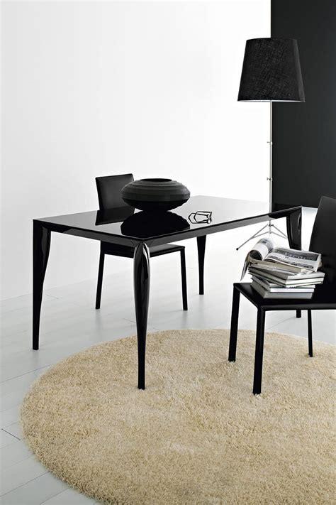 tavolo in vetro temperato tavolo allungabile in alluminio e piano in vetro temperato