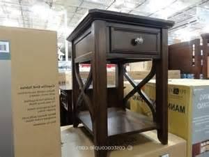 bayside furnishings caprilla end tables costco sofa table