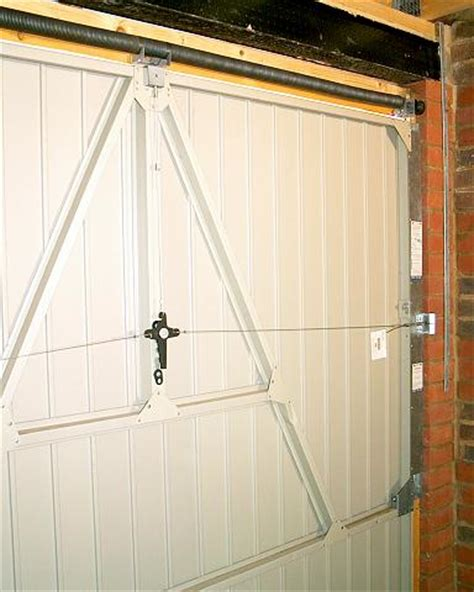 Wickes Garage Doors Fitting by Re Hanging Cardale A Vertically Tracked Door