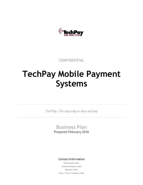 mobile payment systems techpay mobi mobile payment systems business plan