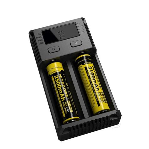 Charger Nitecore I2 By Techno Vape nitecore i2 vape 18650 battery charger